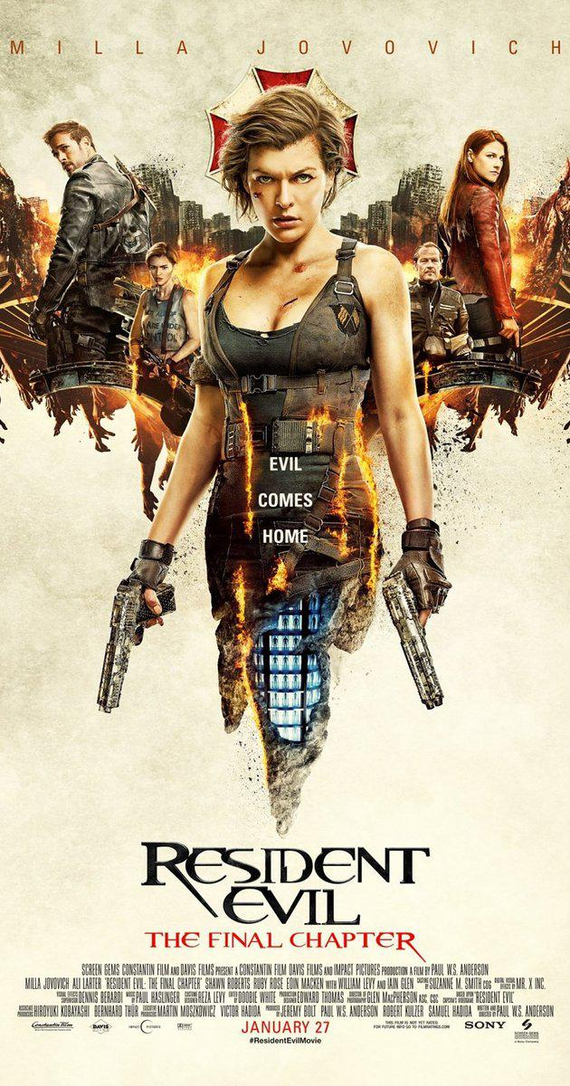 Resident Evil: The Final Chapter (2016) อวสานผีชีวะ