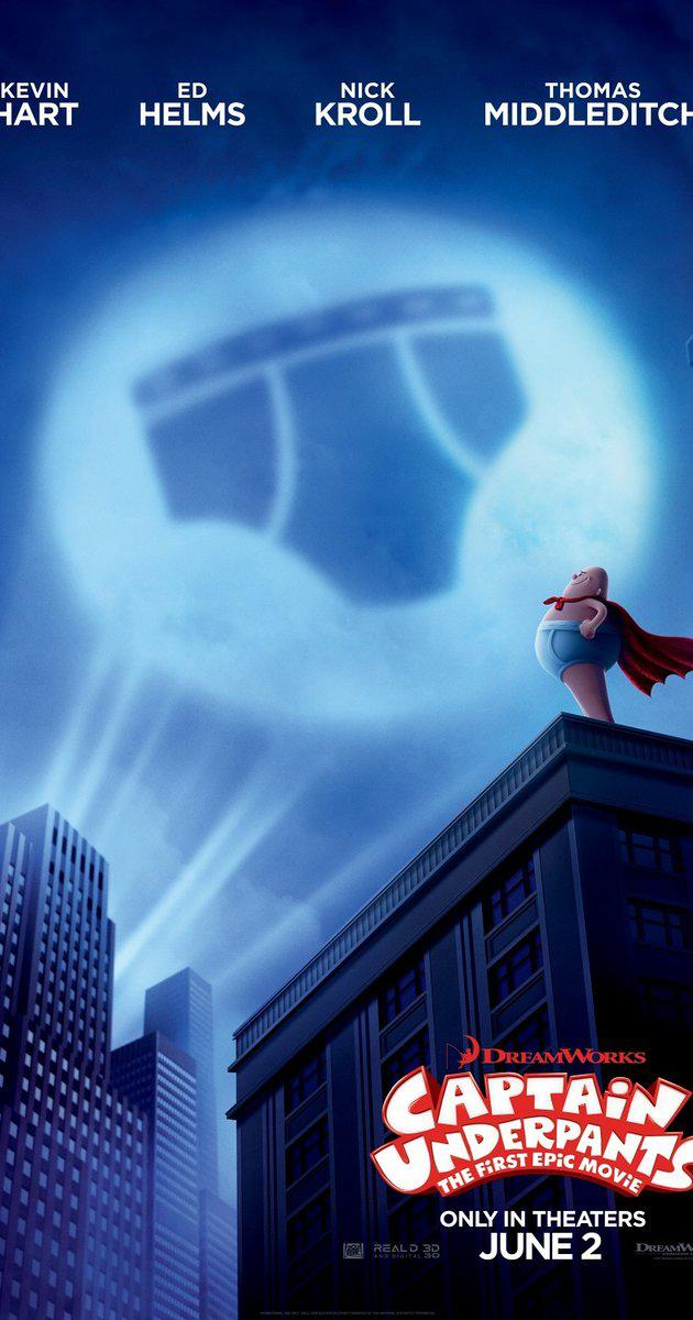 Captain Underpants: The First Epic Movie (2017) กัปตันกางเกงใน